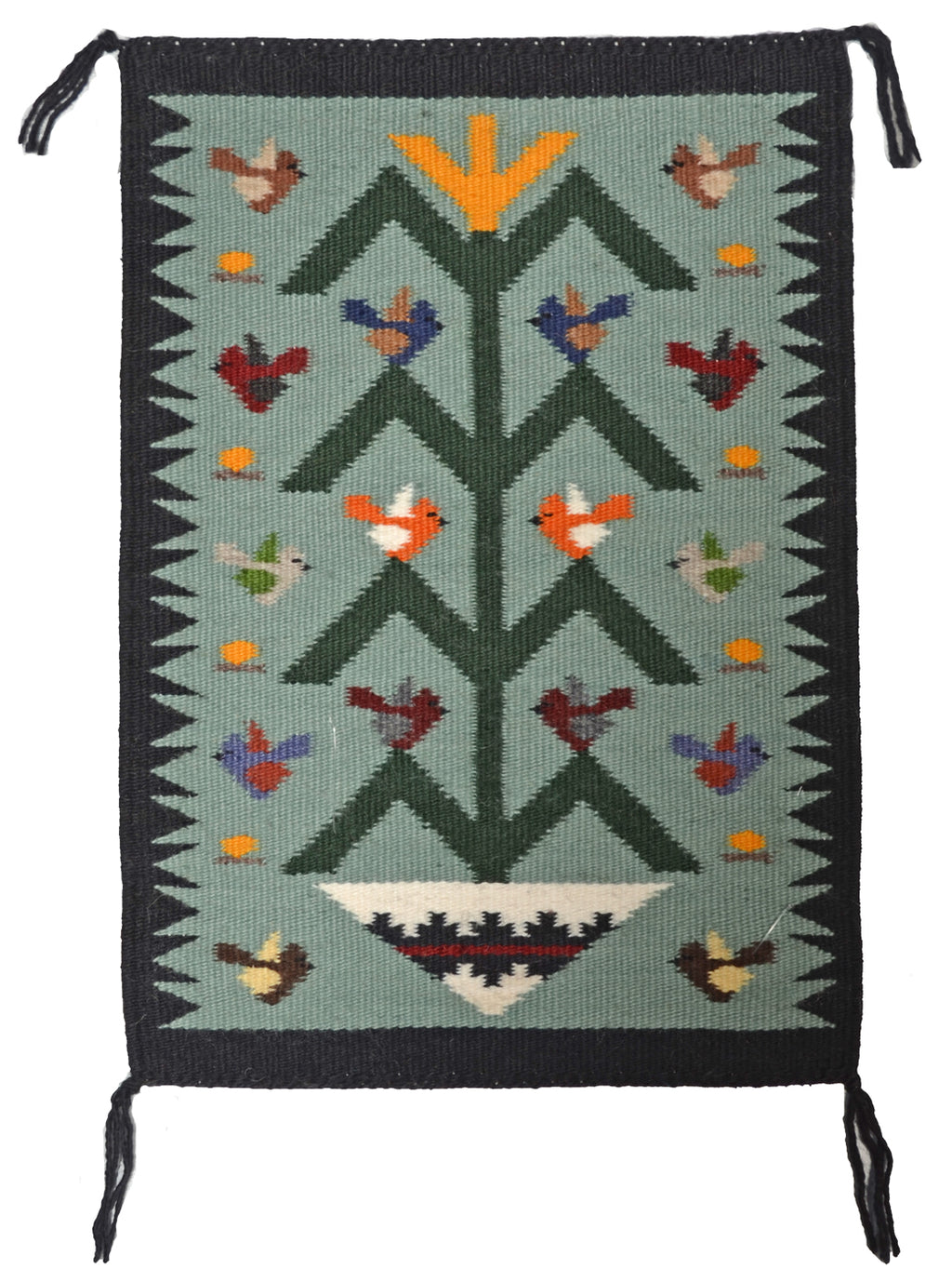 American Indian Rug Tree of Life Joanne Begaye