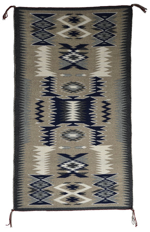 America Indian Storm Pattern Navajo Rug : Gabrielle Chester : 3398