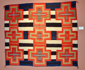 "3rd Phase Variant Chief Blanket : Historic : PC 146 : 66"" x 56.5"" : $150,000"