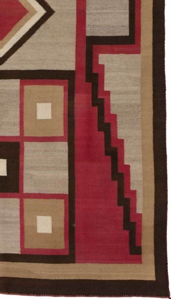 Crystal Optical Navajo Rug Weaving : Historic  : PC-69