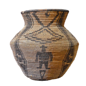 Native American Basket : Apache Olla : Basket 10 - Getzwiller's Nizhoni Ranch Gallery