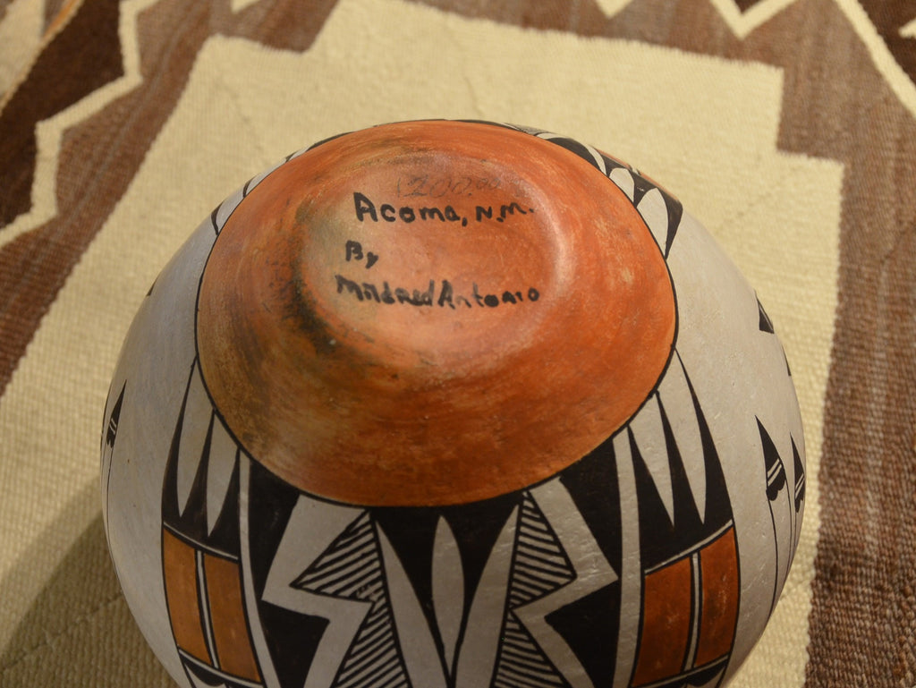 Acoma Pottery : Mildred Antonio- 2 - Pottery - Other Art- Getzwiller's Nizhoni Ranch Gallery - NavajoRug.com