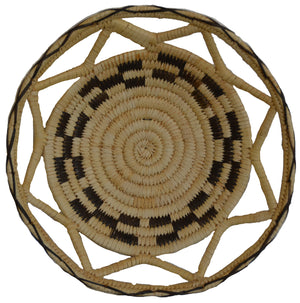 Native American Basket: Navajo Wedding Trey Basket : Basket 3 - Getzwiller's Nizhoni Ranch Gallery