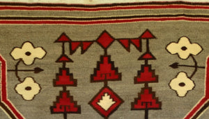 Bistie Navajo Weaving : Historic : GHT 2250 - Getzwiller's Nizhoni Ranch Gallery