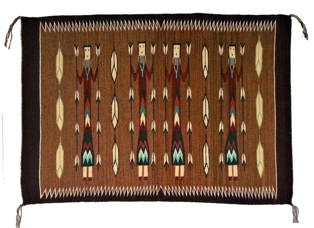 Yei Pictorial Navajo Weaving for sale
