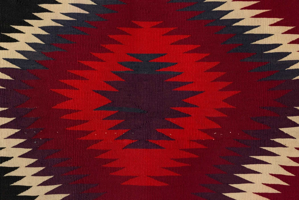 Germantown Serape Navajo Weaving : Historic : GHT 783 - Getzwiller's Nizhoni Ranch Gallery