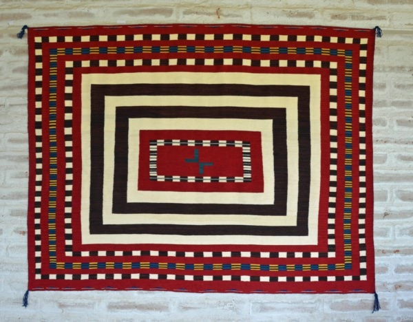 HOLD 2nd Phase Chief Blanket variant : Laberta Marianito & Julia Upshaw : Churro 1499 - Getzwiller's Nizhoni Ranch Gallery