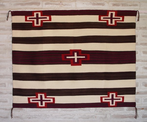 3rd Phase Woman's Blanket : Judy Marianito : Churro 1383 - Getzwiller's Nizhoni Ranch Gallery