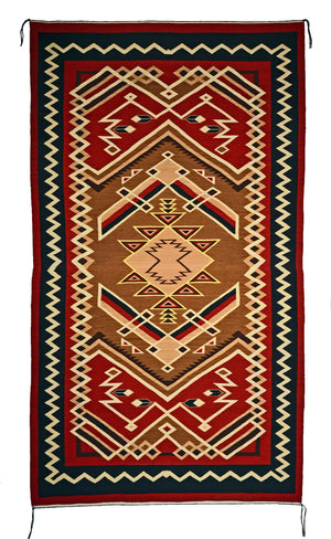 Crystal Navajo rug for sale : Geraldine Phillips : Churro 1612 - Getzwiller's Nizhoni Ranch Gallery