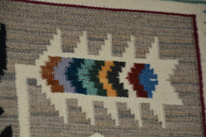 Teec Nos Pos Navajo Rug in Pastel colors