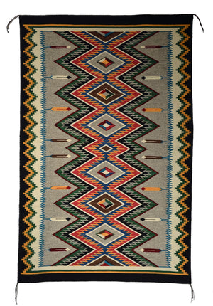 American Indian Rug Red Mesa Navajo Weaving