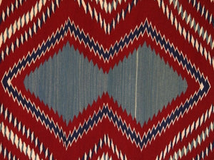 Serape Navajo Weaving : Laverta Marianito : Churro 425 - Getzwiller's Nizhoni Ranch Gallery