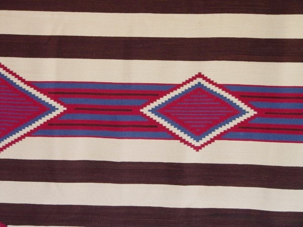 3rd Phase Chief Blanket : Laberta Marianito : Churro 896 - Getzwiller's Nizhoni Ranch Gallery