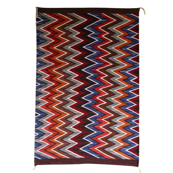 SOLD Germantown Style Navajo Eye Dazzler : Frances Begay : Churro 1211