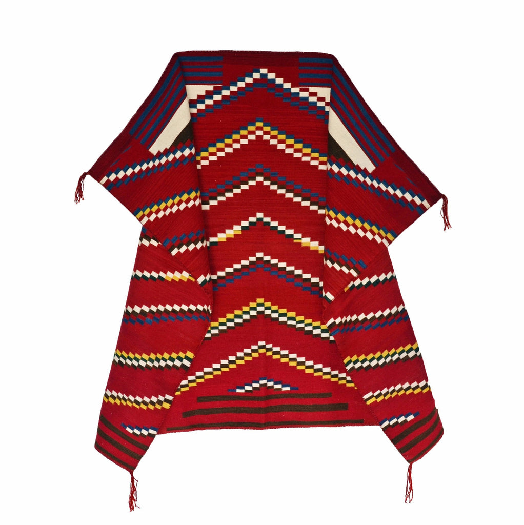 Chief Blanket in drape form