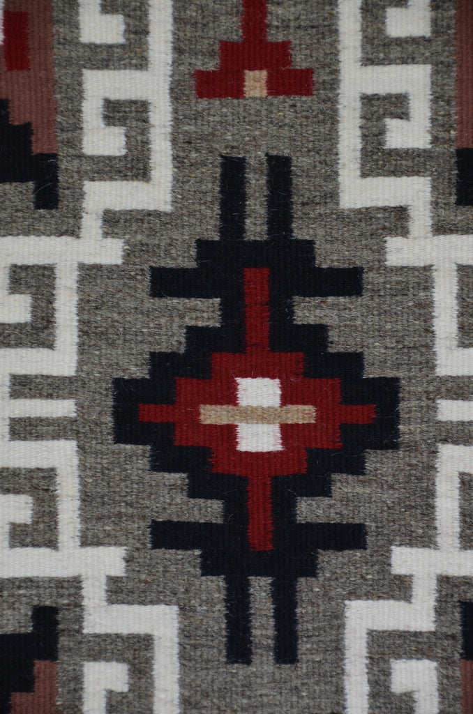 Klagetoh/Three Turkey Ruin Navajo Rug : Helen Bia : Churro 1512 - Getzwiller's Nizhoni Ranch Gallery