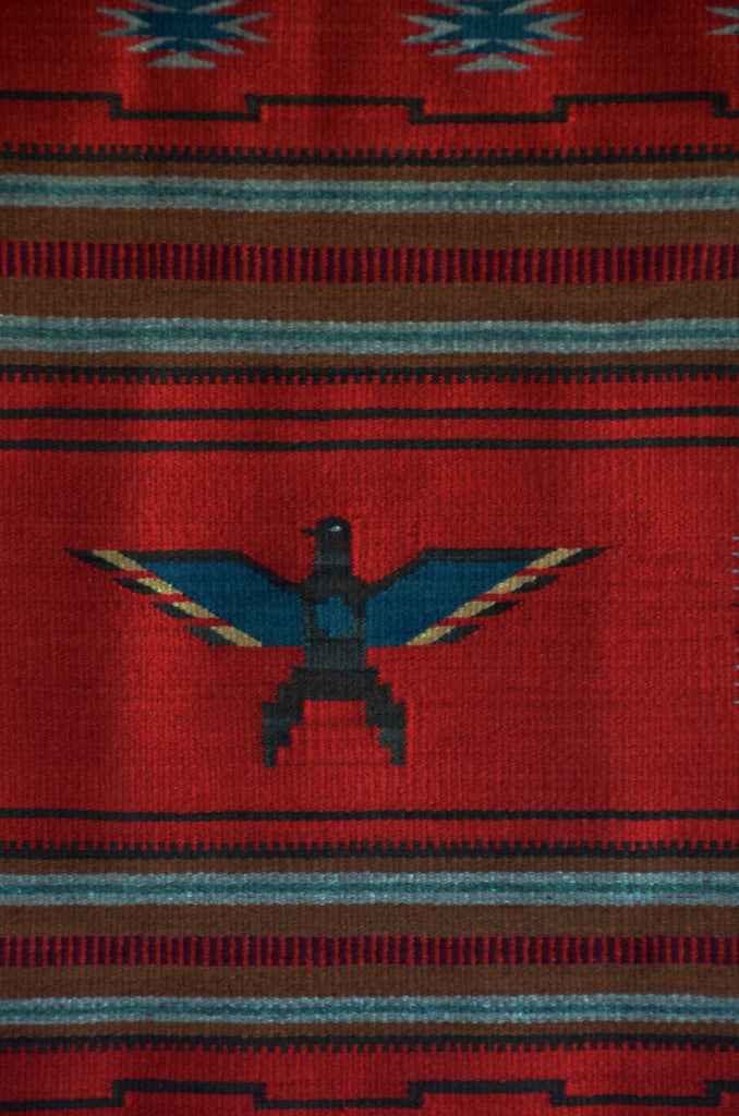 Chinle Pictorial Navajo Weaving : GH : Churro 1519 - Getzwiller's Nizhoni Ranch Gallery