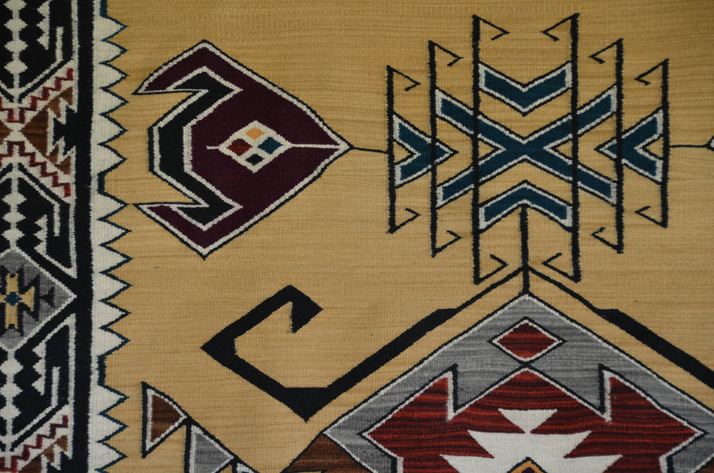 Teec Nos Pos Navajo Rug detail photo