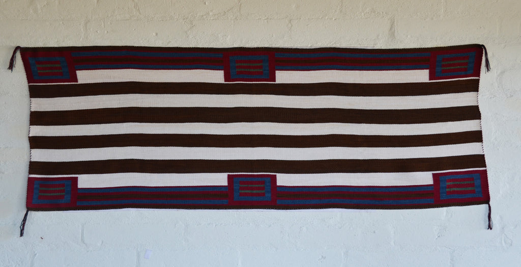 Navajo Womans Shawl : Lucie Marianito : Churro 1549 - Getzwiller's Nizhoni Ranch Gallery