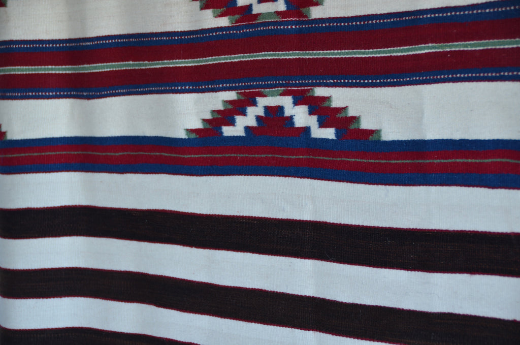 3rd Phase Navajo Chief Blanket : Kathy Marianito : Churro 1551 - Getzwiller's Nizhoni Ranch Gallery