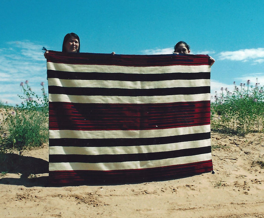 2nd Phase Navajo Chief Blanket : Judy Marianito : Churro 710 - Getzwiller's Nizhoni Ranch Gallery