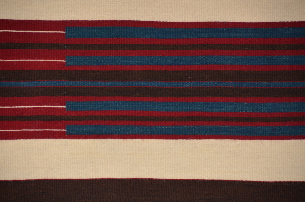 2nd Phase Chief Blanket : Judy Marianito : Churro 710 - Getzwiller's Nizhoni Ranch Gallery