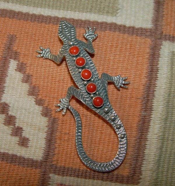 Jewelry : Lizard Pin : Lee Charley : NAJ-13p