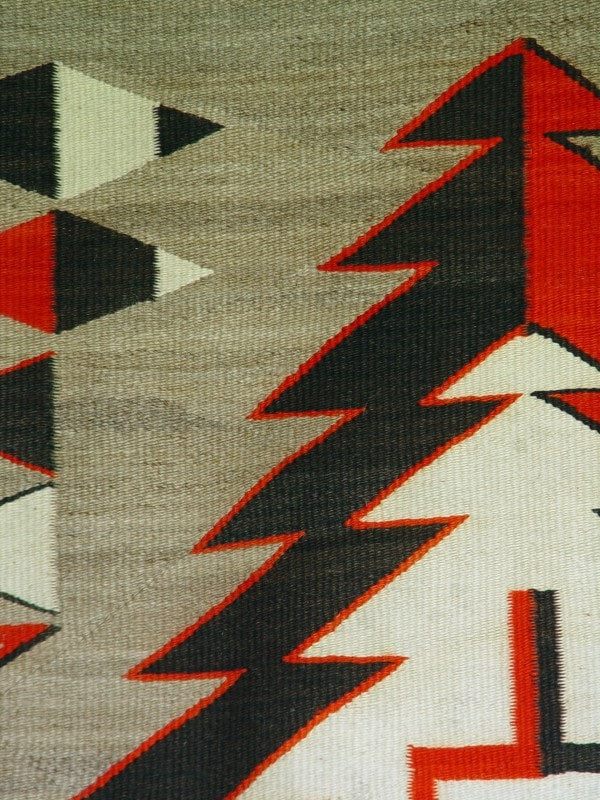 Crystal Navajo Weaving : Historic : GHT 2178 - Getzwiller's Nizhoni Ranch Gallery