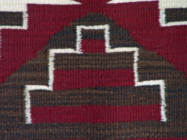 3rd Phase Chief Blanket : Louise Reed : Churro 1091 - Getzwiller's Nizhoni Ranch Gallery