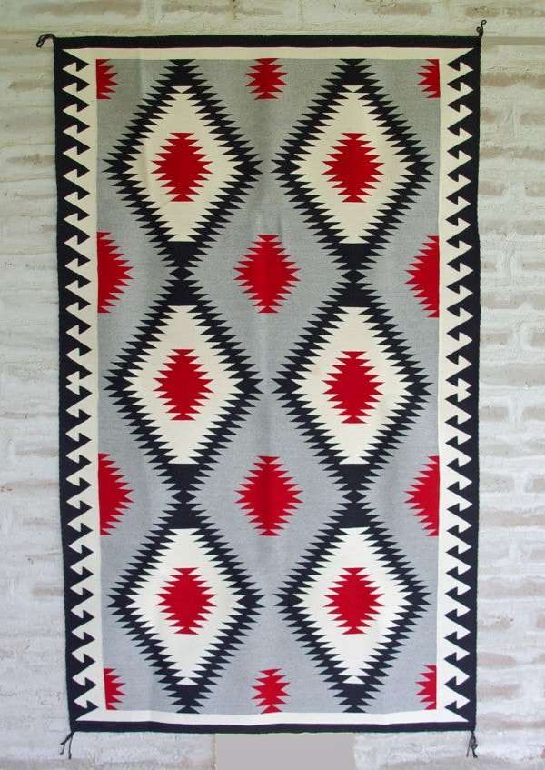 Chinle : Old Style Navajo Weaving : Susie Begay : 3198 - Chinle - Contemporary- Getzwiller's Nizhoni Ranch Gallery - NavajoRug.com