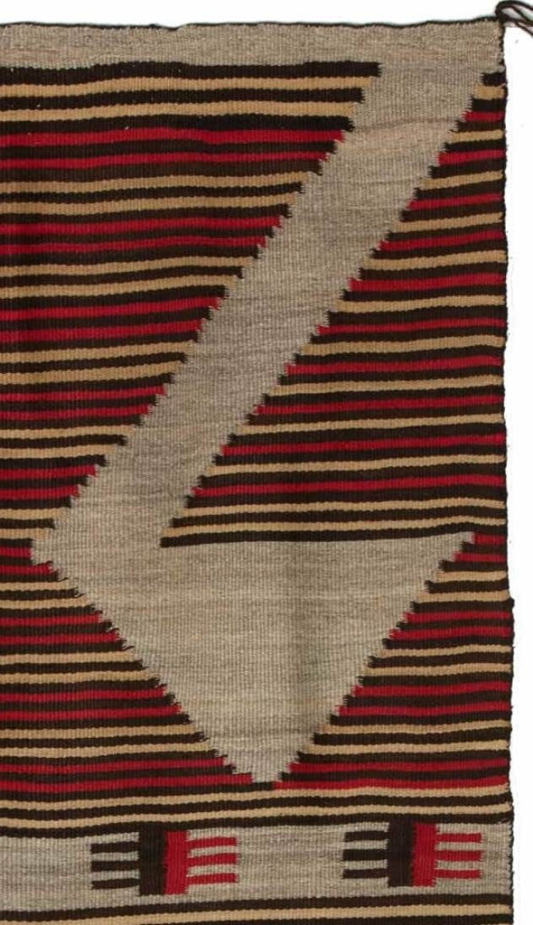 Crystal Optical Navajo Rug Weaving : Historic : PC 45 - Getzwiller's Nizhoni Ranch Gallery