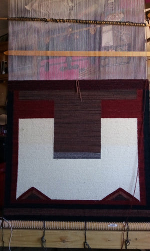 Elsie-Bia-Navajo-Double-Saddle-Blanket