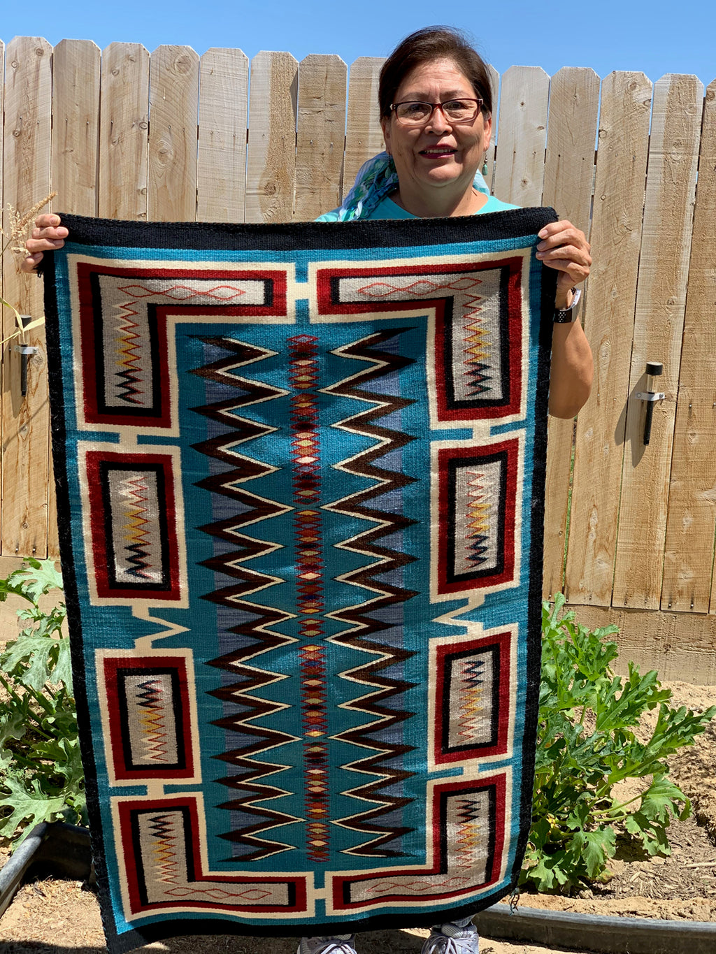 Frances Begay Navajo Weaver