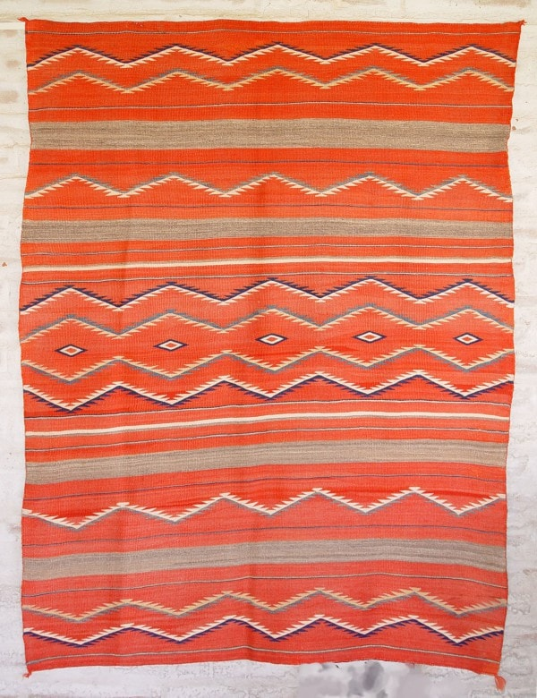 Serape - Late Classic Wearing Blanket : Historic : GHT 2083 - Getzwiller's Nizhoni Ranch Gallery