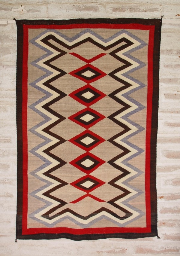 Crystal Navajo Weaving : Historic : GHT 2090 - Getzwiller's Nizhoni Ranch Gallery
