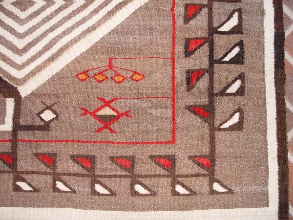 Crystal Pictorial Navajo Weaving : Historic : GHT 2124