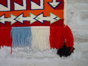 Saddle Blanket - Navajo Teec Nos Pos Single Sunday : Historic : GHT 2125 - Getzwiller's Nizhoni Ranch Gallery
