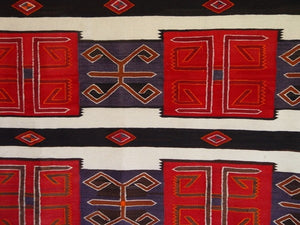 3rd Phase Chief Blanket : Historic : GHT 2126 : 57″ x 77″ - Getzwiller's Nizhoni Ranch Gallery