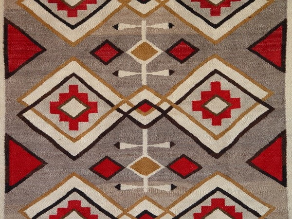 Crystal Navajo Weaving : Historic : GHT 2135 - Getzwiller's Nizhoni Ranch Gallery