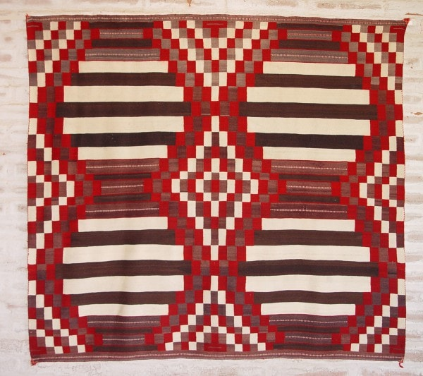 3rd Phase Chief Blanket : Historic : GHT 2151 - Getzwiller's Nizhoni Ranch Gallery