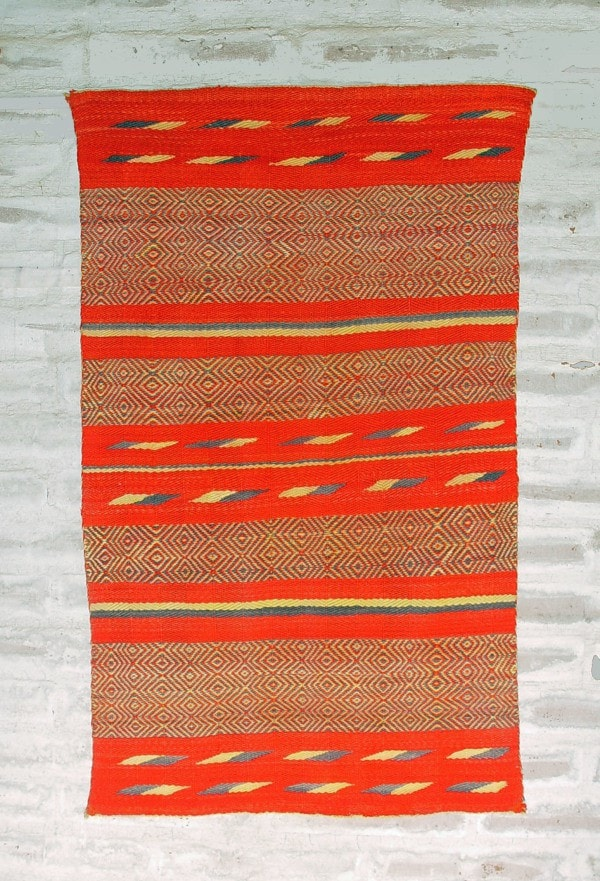 Saddle Blanket - Double - Twill : Historic : GHT 2152 - Getzwiller's Nizhoni Ranch Gallery