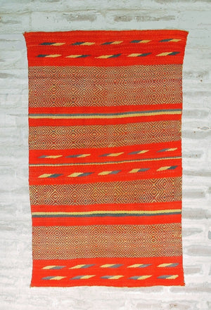 Saddle Blanket - Double - Twill : Historic : GHT 2152 : 33″ x 54″ - Getzwiller's Nizhoni Ranch Gallery
