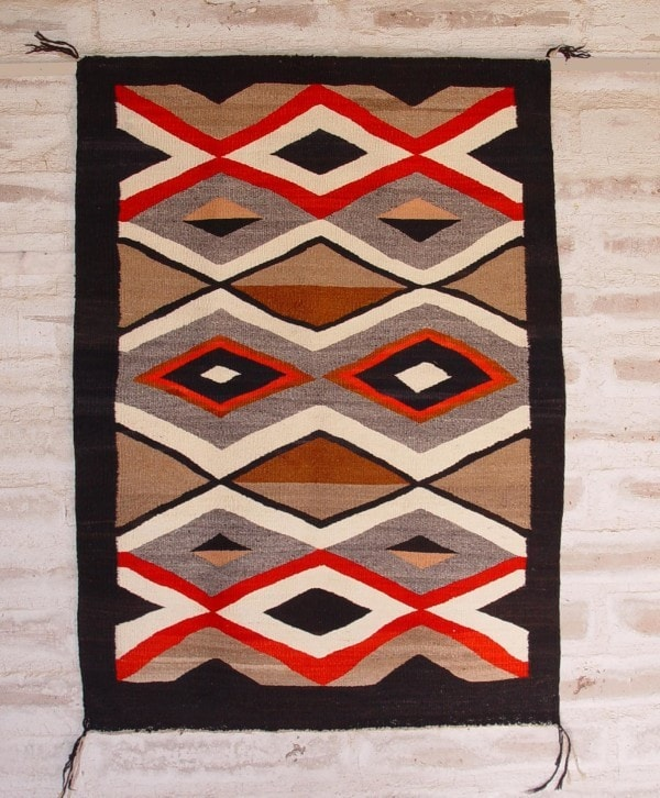 Crystal Navajo Weaving : Historic : GHT 2156 - Getzwiller's Nizhoni Ranch Gallery