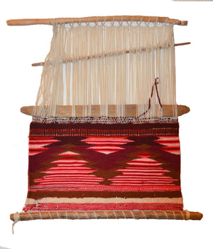 Germantown Sampler Loomer : Navajo Weaving: Historic : GHT 2317