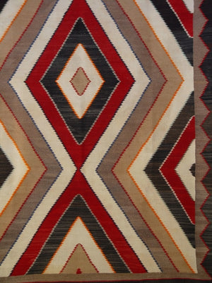 Red Mesa Navajo Weaving : Historic : GHT 755 - Getzwiller's Nizhoni Ranch Gallery