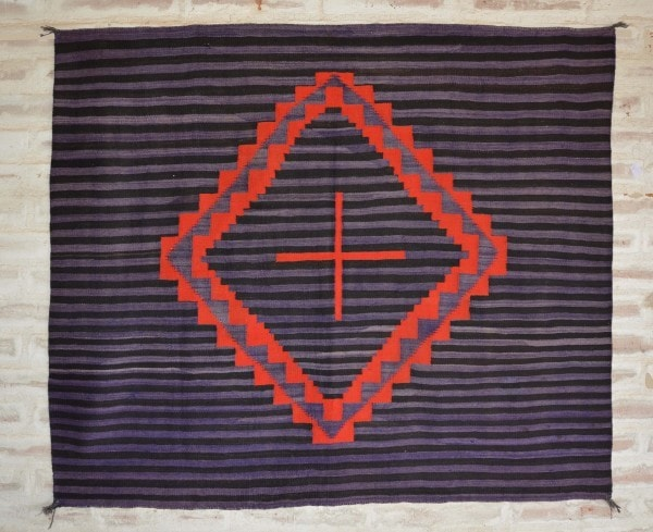 Moki Hubbell Transitional Blanket : Historic : GHT 2016 - Getzwiller's Nizhoni Ranch Gallery