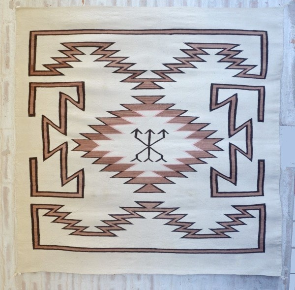 Transitional Navajo Bedspread : Historic : GHT 2009 - Transitional - Historic Collection- Getzwiller's Nizhoni Ranch Gallery - NavajoRug.com