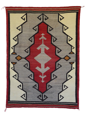 Crystal Navajo Rug : Historic : GHT 2265 - Getzwiller's Nizhoni Ranch Gallery