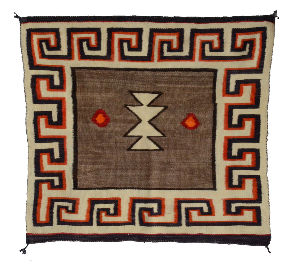 Navajo Saddle Blanket -Single : Historic : GHT 2271 - Getzwiller's Nizhoni Ranch Gallery