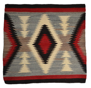 Navajo Saddle Blanket -Single : Historic : GHT 2278 - Getzwiller's Nizhoni Ranch Gallery